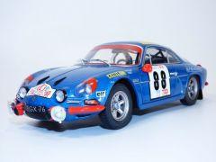 BERLINETTE ALPINE RENAULT A110 n°88 vainqueur rallye du PORTUGAL 1971 1/18 Solido S1804202 3663506010163 Jean Pierre Nicolas Jean TODT