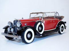 FORD LINCOLN KB V12 cabriolet rouge ouvert 1/18 1932