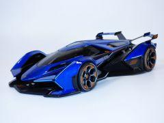 LAMBORGHINI V12 VISION Gran Turismo bleu 1/18