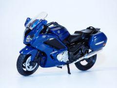 Moto YAMAHA FJR1300 bleu 2018 1/18