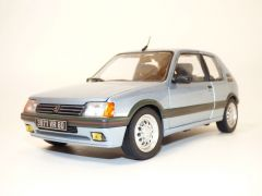 PEUGEOT 205 GTi 1.6L bleu Topaze 1/18 Norev 184857 3551091848578  B0822Y1TMN Phase 1.5