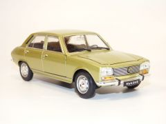 PEUGEOT 504 berline vert metallise bronze 1/24 1974 WELLY 24001 B08PSZVD6V 4891761240011